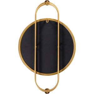 "Load image into Gallery viewer, 25""x15"" Caroline Mirror - Gold"