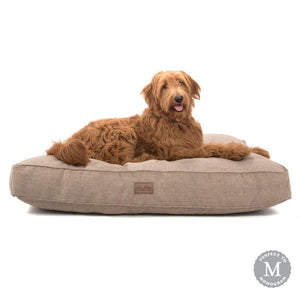 Tweed Rectangle Dog Bed
