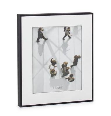 Load image into Gallery viewer, Boulevard Black Matte Photo Frames - Multiple Sizes