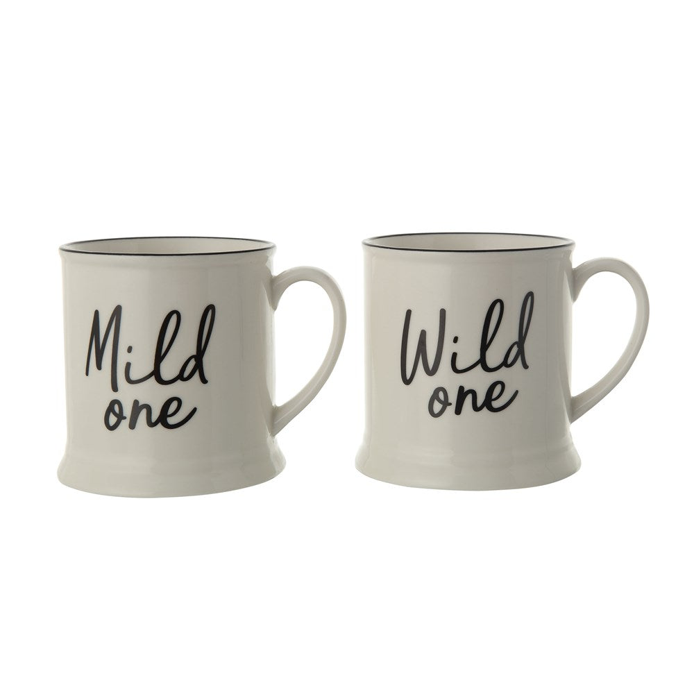 Stoneware Mug w/ Saying