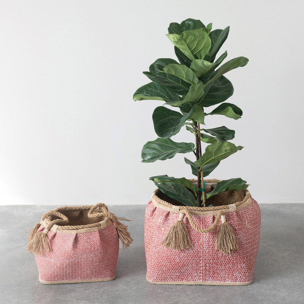 Seagrass Baskets - Coral