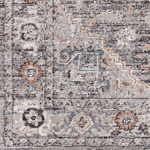 Daytona Beach Grey Rug -Runner