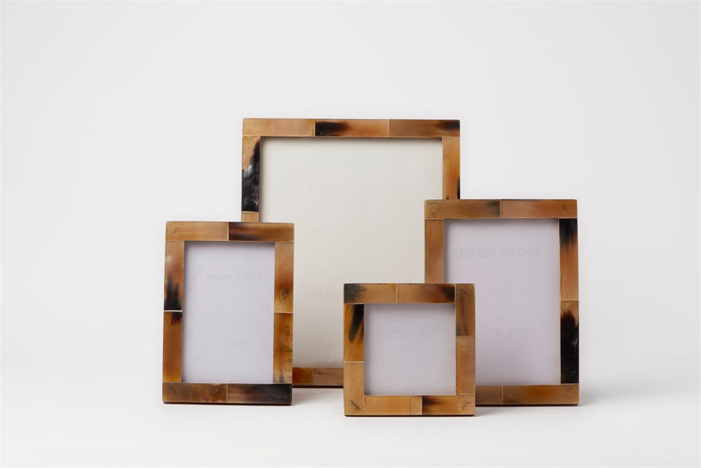 Horn Photo Frames Brown