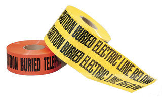 "3"" Electric Line Tape - Yellow"
