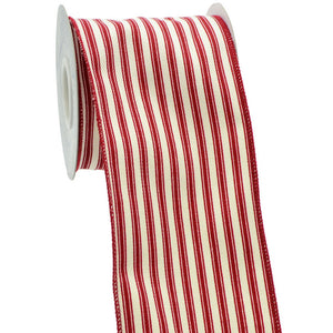 Load image into Gallery viewer, Lots of Red Stripes Ribbon