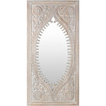 "72""x36"" Jodhpur Mirror - White"