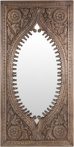 "72""x36"" Jodhpur Mirror - Natural"