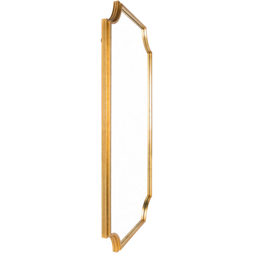 "75""x40"" Joslyn Mirror - Gold"
