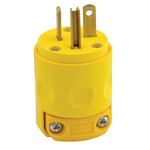 20A 125V Yellow Cord Cap