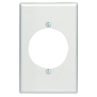 1G Range/Dryer Receptacle Plate