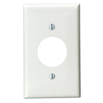 1G Single Receptacle Plate