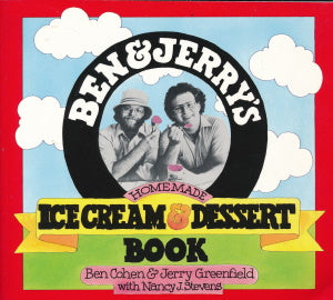 Ice Cream & Desser Book from Ben and Jerry