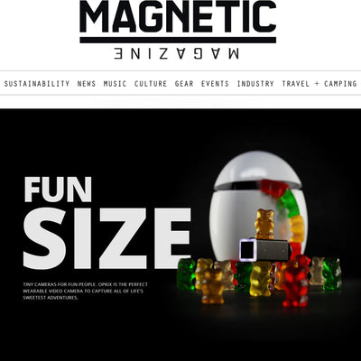 MAGNETIC MAGAZINE: HOLIDAY SHOPPING SPOTLIGHT: IT'S SMALL, IT'S WATERPROOF, AND IT WILL CAPTURE SOME CRAZY VIDEO