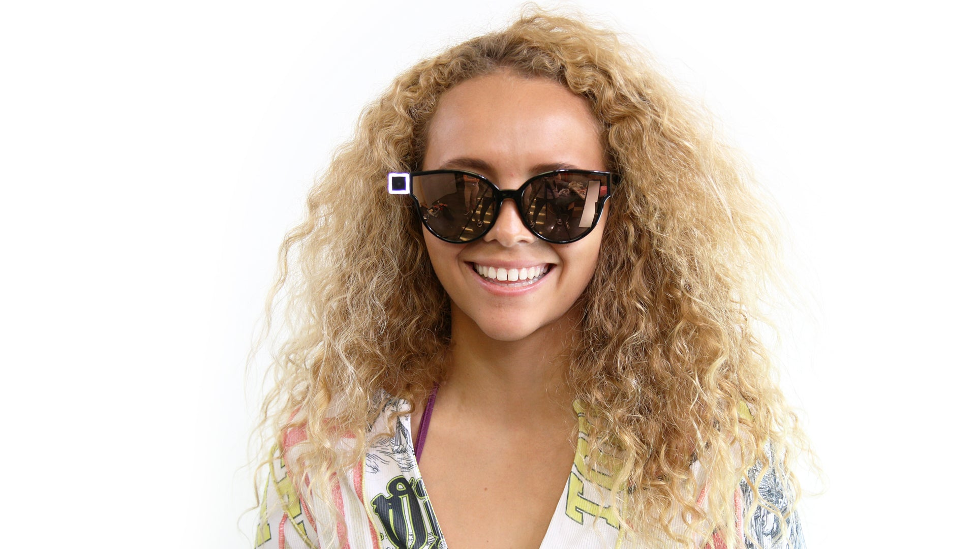 Malia Ward OPKIX Sunglasses Video Camera