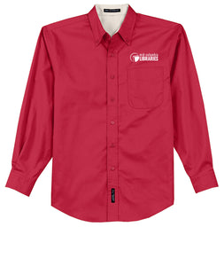 Easy Care Long Sleeve Button-Up - MCL