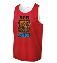 Load image into Gallery viewer, Red Reversible Jersey - See3Slam