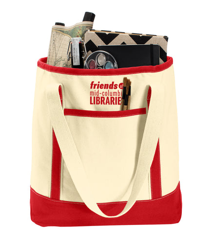 Large Cotton Canvas Tote - Friends of MCL