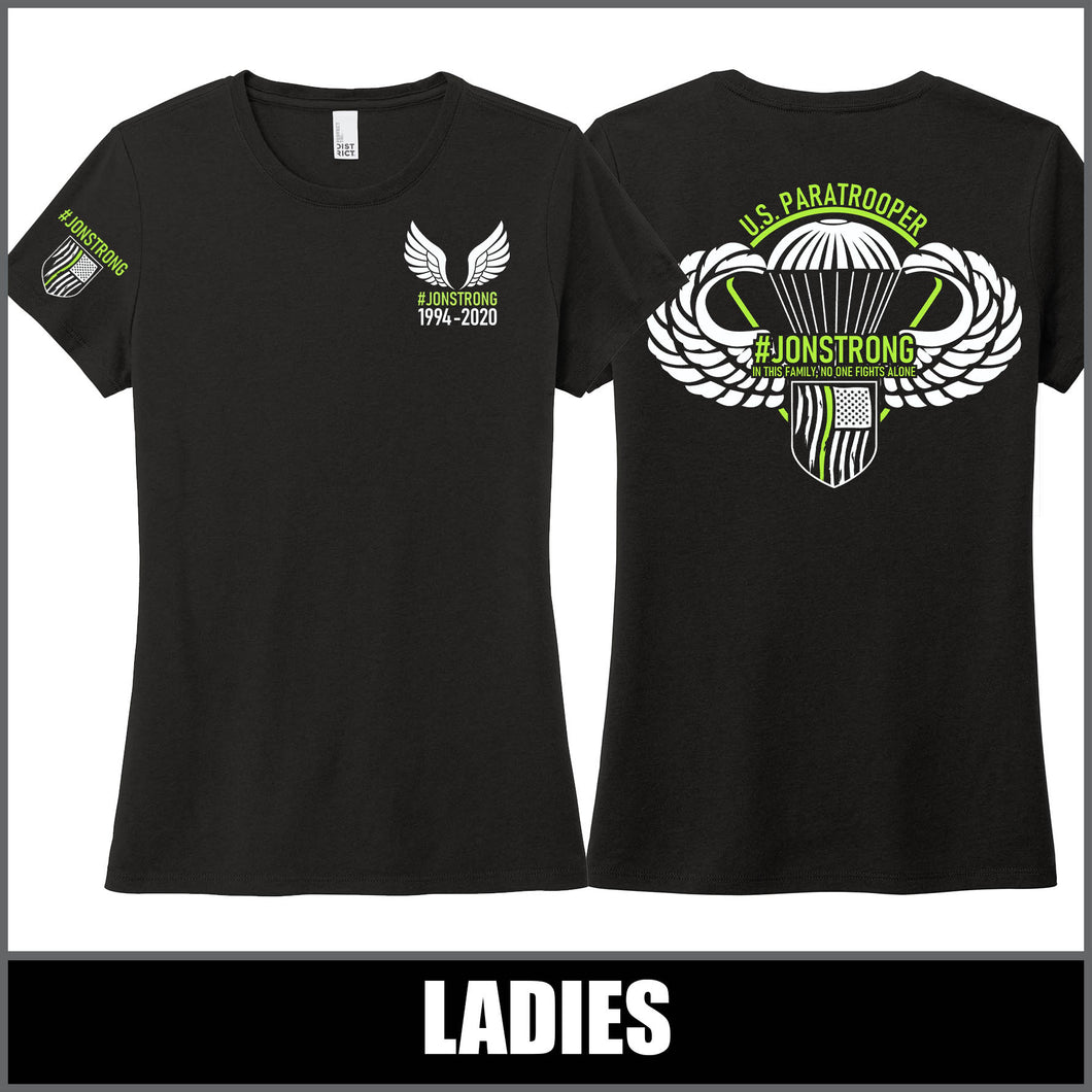 Ladies T-Shirt - Jon Pfannenstiel Memorial