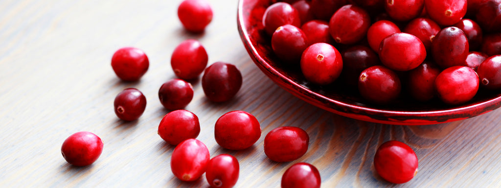 Cranberries can help prevent UTIs