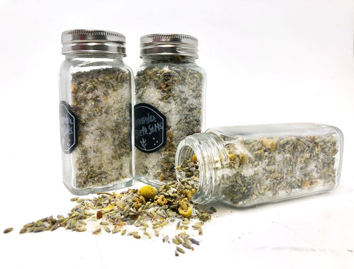 Chamomile Green Tea Detox Bath Salts