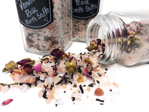 Vanilla Hibiscus Rose Bath Salt