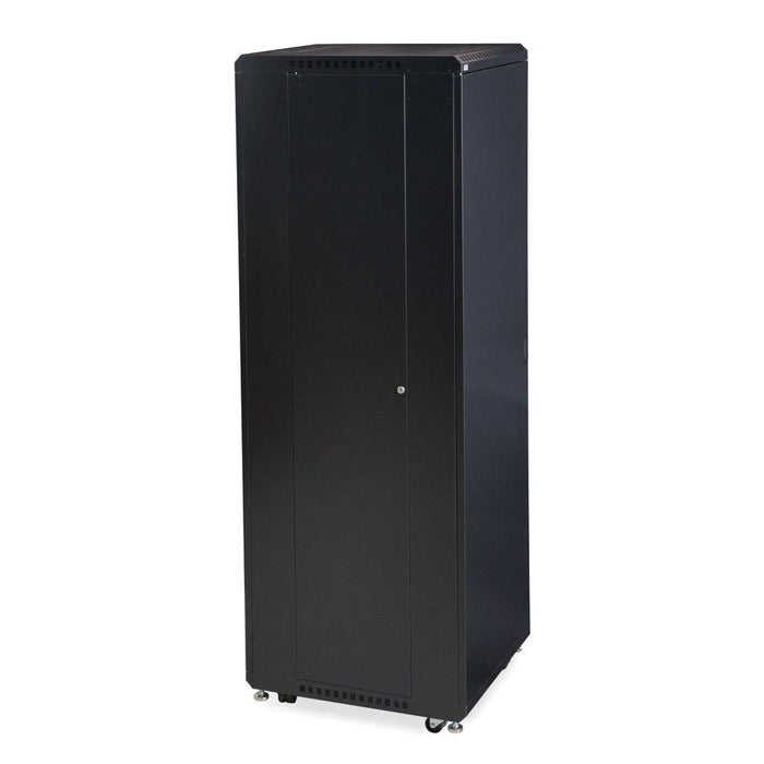 "42U LINIER® Server Cabinet - Solid/Convex Doors - 24"" Depth by Kendall Howard in Racks & Accessories  - Network Cables Online"
