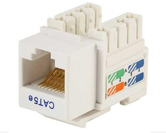 CAT5e Keystone Jack, Rj45,110 Type, Punch Down on rj45 cable wiring, cat 5 wiring diagram, rj45 plug diagram, rj11 plug diagram, power jack wiring diagram, cisco switch port diagram, ethernet connector diagram, cat5e wiring diagram, cat 6 wiring diagram, rj45 connector plug, rj45 connections diagram, rj45 plug wiring, cat 5 cable color code diagram, usb wiring diagram, rj45 jack diagram, cat 7 wiring diagram, rj45 crossover diagram, rj45 to rj11 wiring, rj45 connector block diagram, rj45 pinout diagram,