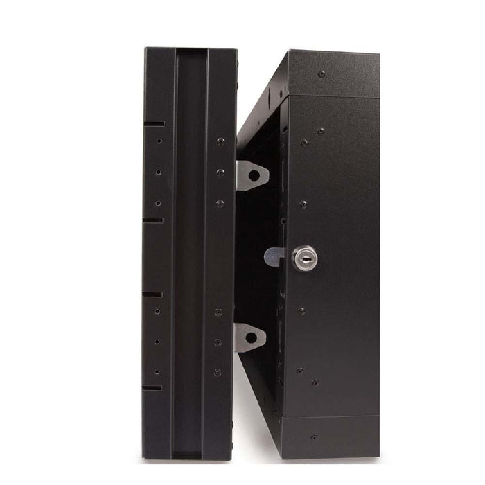 9U LINIER® Swing-Out Wall Mount Cabinet - Glass Door by Kendall Howard in Racks & Accessories  - Network Cables Online