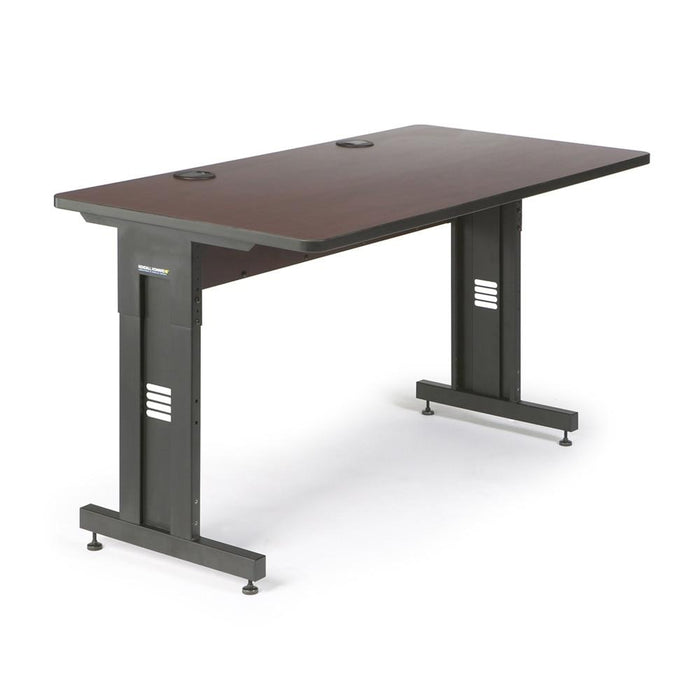 "60"" W x 30"" D Training Table - African Mahogany by Kendall Howard in Training Tables  - Network Cables Online"