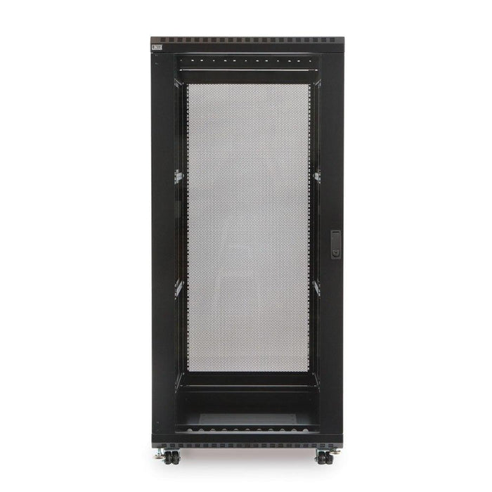 "27U LINIER® Server Cabinet - Glass/Glass Doors - 24"" Depth by Kendall Howard in Racks & Accessories  - Network Cables Online"