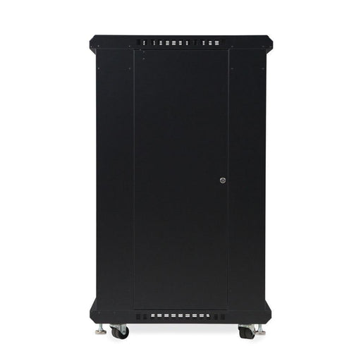 "22U LINIER® Server Cabinet - Glass/Glass Doors - 24"" Depth by Kendall Howard in Racks & Accessories  - Network Cables Online"