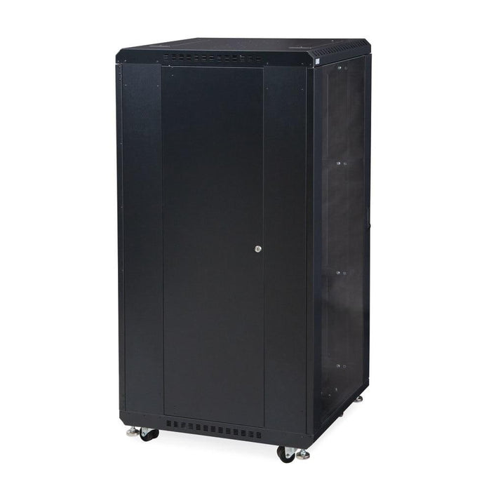 "27U LINIER® Server Cabinet - Glass/Vented Doors - 24"" Depth by Kendall Howard in Racks & Accessories  - Network Cables Online"