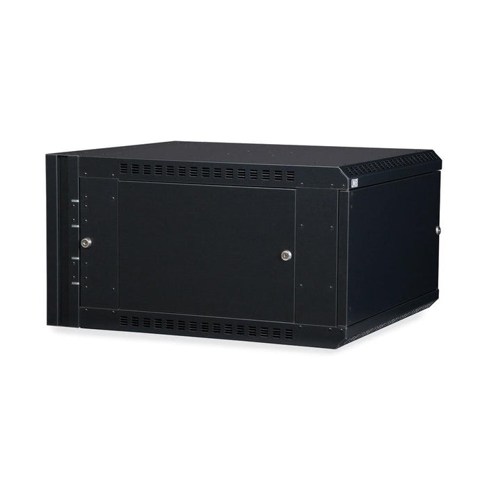 6U LINIER® Swing-Out Wall Mount Cabinet - Solid Door by Kendall Howard in Racks & Accessories  - Network Cables Online