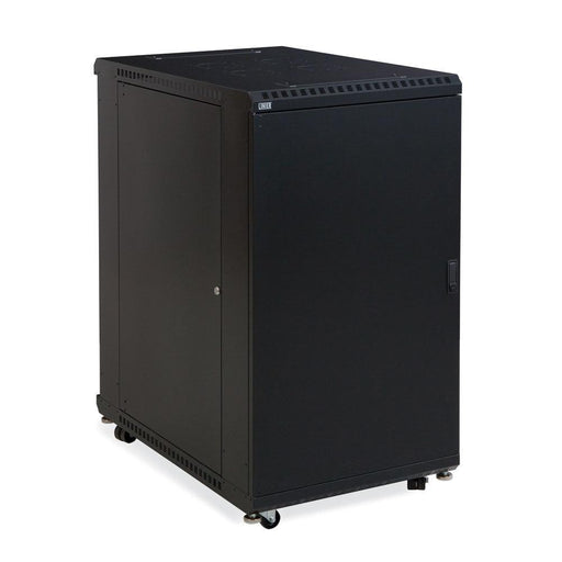 "22U LINIER® Server Cabinet - Solid/Solid Doors - 36"" Depth by Kendall Howard in Racks & Accessories  - Network Cables Online"