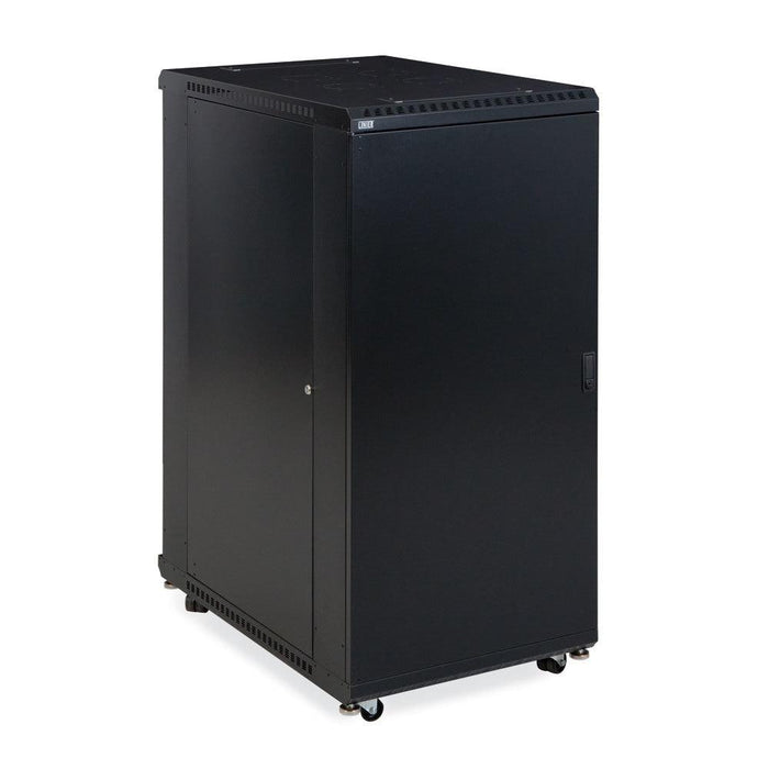 "27U LINIER® Server Cabinet - Solid/Solid Doors - 36"" Depth by Kendall Howard in Racks & Accessories  - Network Cables Online"