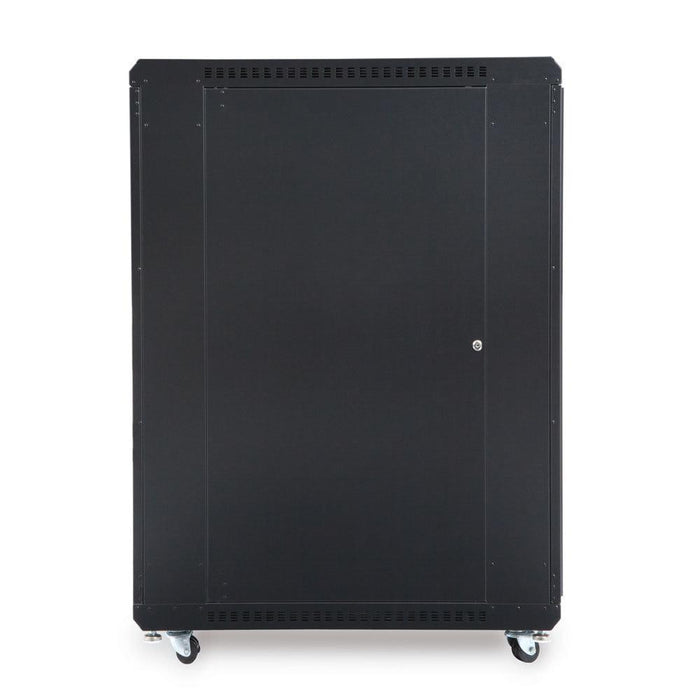 "22U LINIER® Server Cabinet - Glass/Glass Doors - 36"" Depth by Kendall Howard in Racks & Accessories  - Network Cables Online"