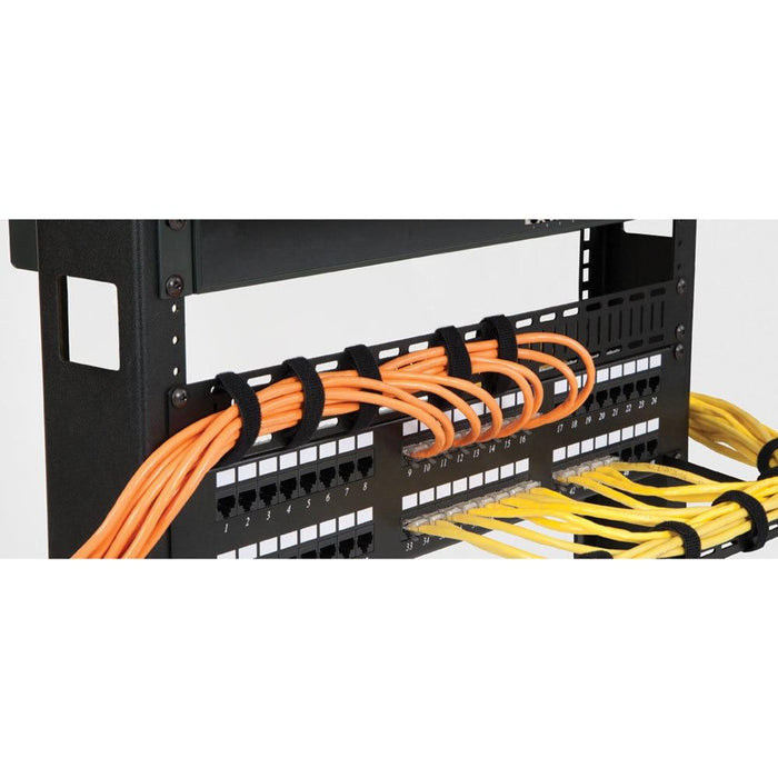 2U Flat Cable Lacing Panel - 10 pack by Kendall Howard in Racks & Accessories  - Network Cables Online