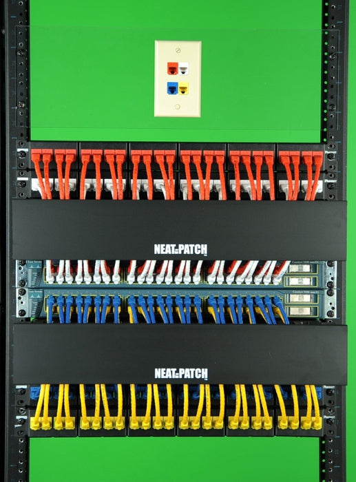 Neat Patch Np2 Cable Management Bay Network Cables Online