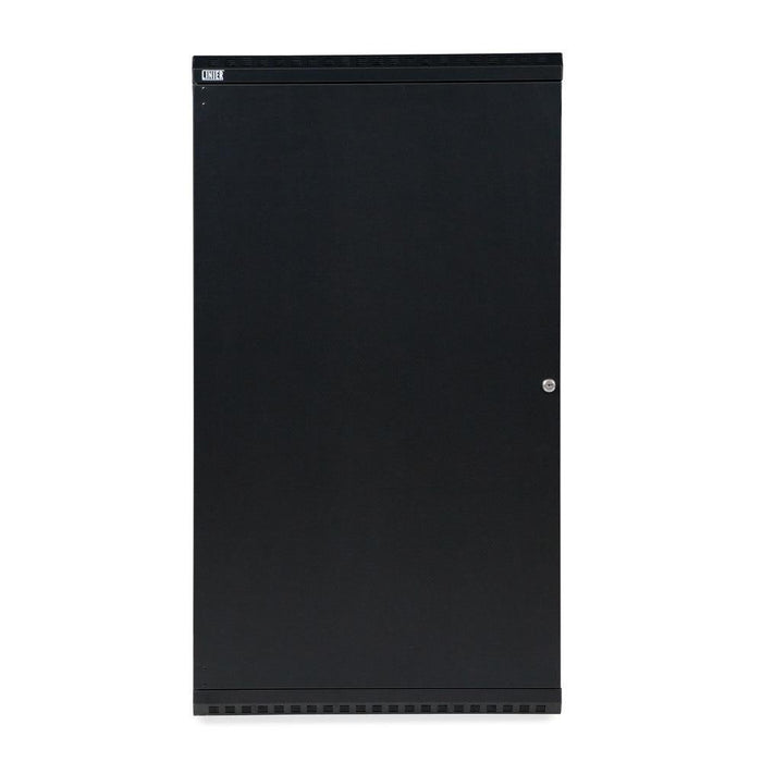 22U LINIER® Swing-Out Wall Mount Cabinet - Solid Door by Kendall Howard in Racks & Accessories  - Network Cables Online