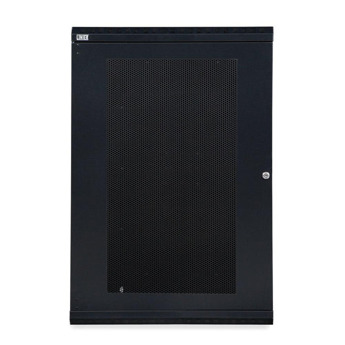18U LINIER® Swing-Out Wall Mount Cabinet - Vented Door by Kendall Howard in Racks & Accessories  - Network Cables Online