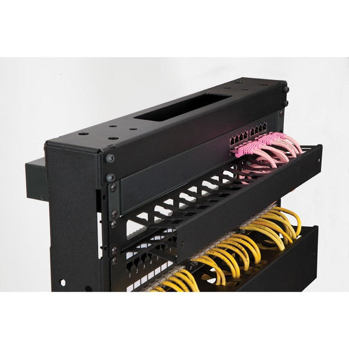 1U Finger Duct Cable Manager by Kendall Howard in Racks & Accessories  - Network Cables Online