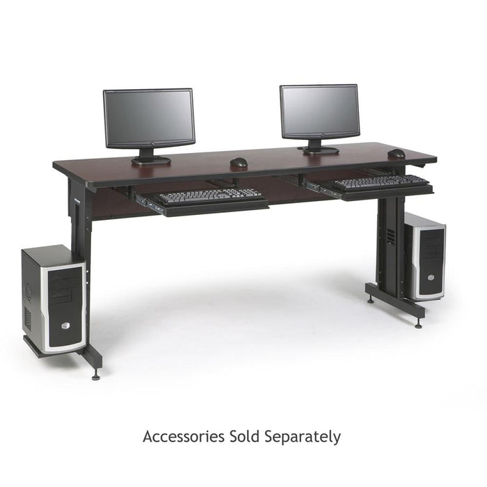 "72"" W x 24"" D Training Table - African Mahogany by Kendall Howard in Training Tables  - Network Cables Online"