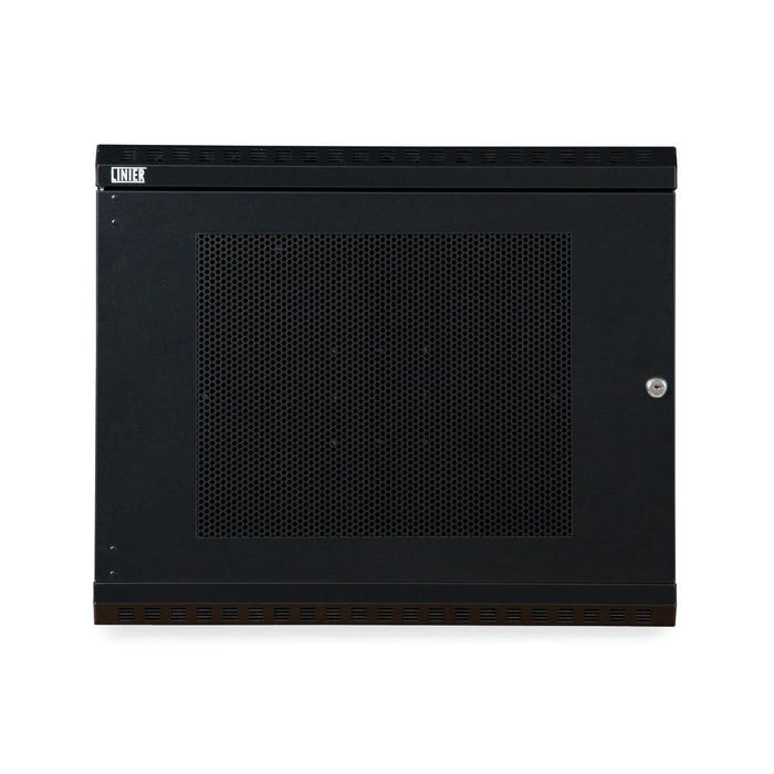 9U LINIER® Swing-Out Wall Mount Cabinet - Vented Door by Kendall Howard in Racks & Accessories  - Network Cables Online