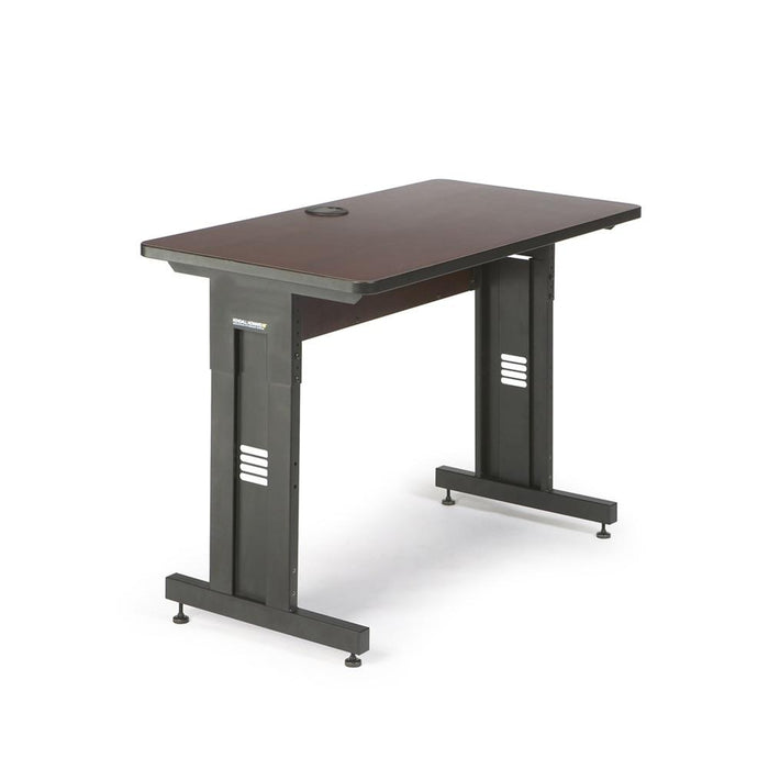 "48"" W x 24"" D Training Table - African Mahogany by Kendall Howard in Training Tables  - Network Cables Online"