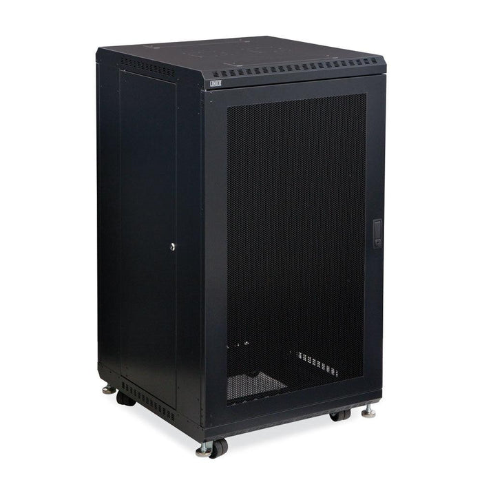 "22U LINIER® Server Cabinet - Vented/Vented Doors - 24"" Depth by Kendall Howard in Racks & Accessories  - Network Cables Online"