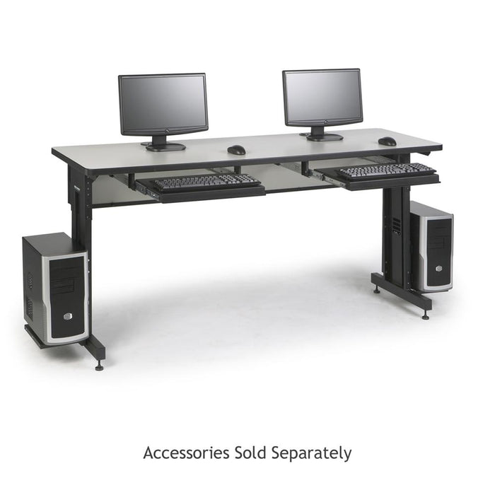 "72"" W x 24"" D Training Table - Folkstone by Kendall Howard in Training Tables  - Network Cables Online"