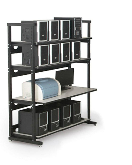 "48"" Performance Plus Heavy Duty LAN Station by Kendall Howard in Technical Furniture  - Network Cables Online"