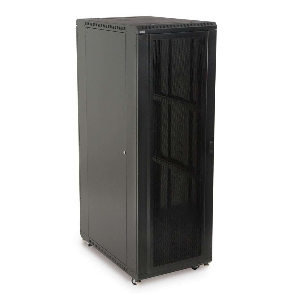 "37U LINIER® Server Cabinet - Convex/Vented Doors - 36"" Depth by Kendall Howard in Racks & Accessories  - Network Cables Online"