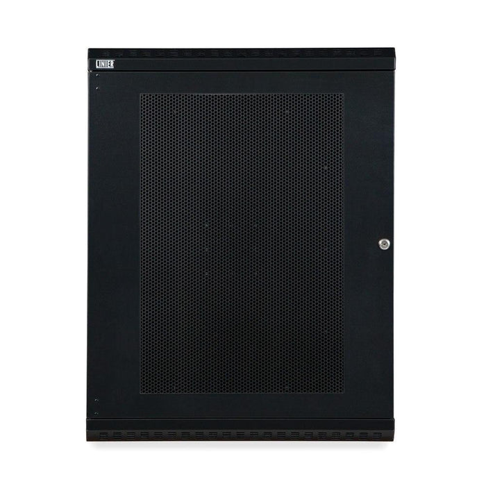 15U LINIER® Swing-Out Wall Mount Cabinet - Vented Door Racks & Accessories Kendall Howard