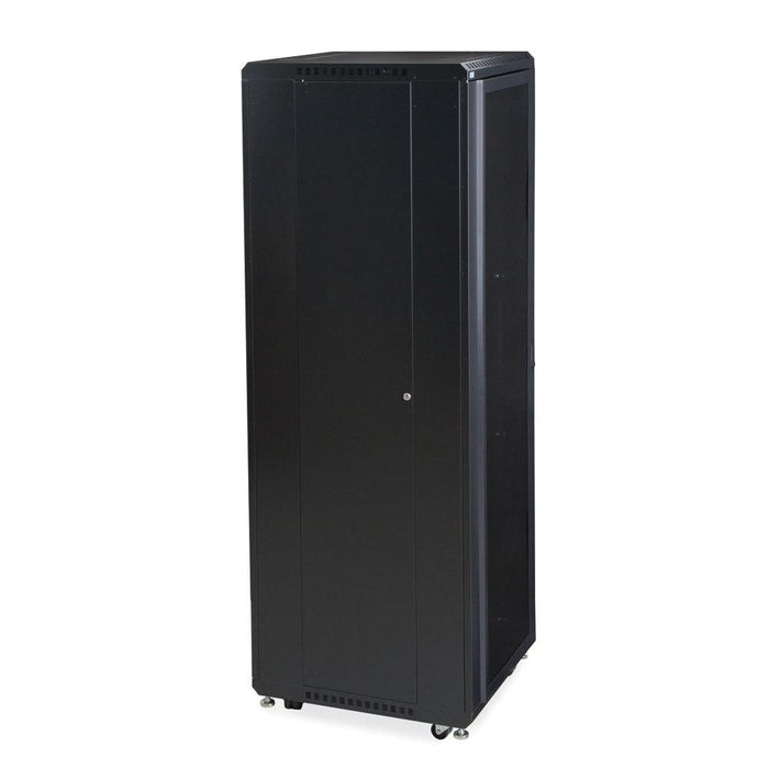 "42U LINIER® Server Cabinet - Convex/Glass Doors - 24"" Depth by Kendall Howard in Racks & Accessories  - Network Cables Online"